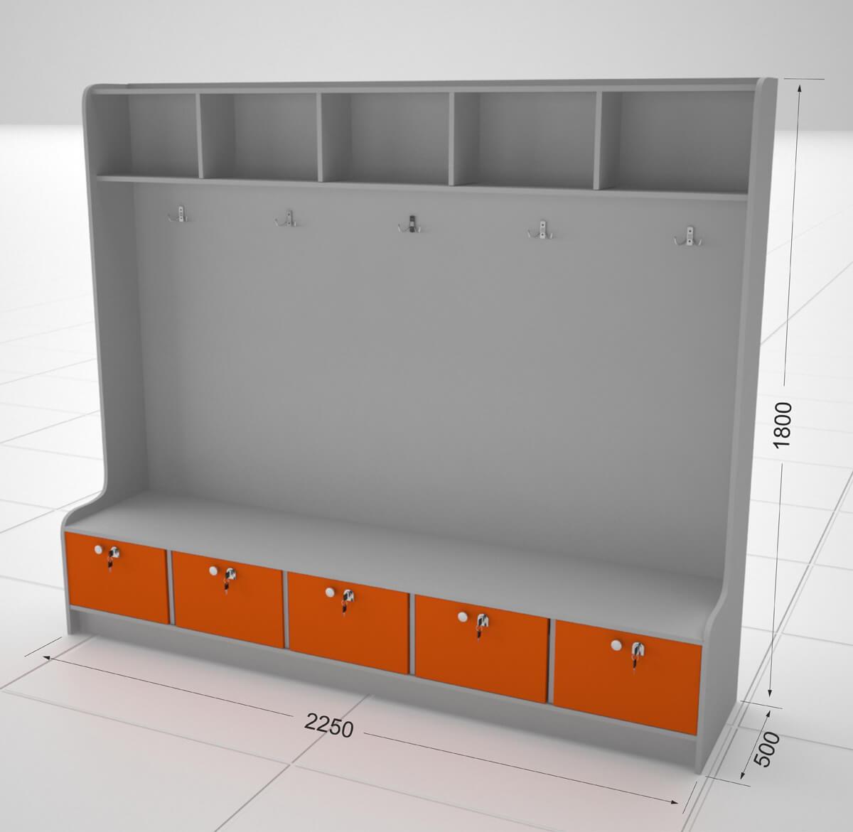 Шкафчик S14